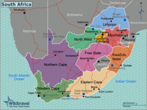 South Africa Regions map Mart Bouter 300x225 South Africa Home Page